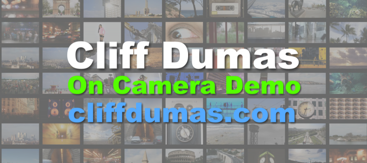 Cliff Dumas On Camera Demo